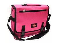 Lee Cooper Messenger Bag BNWT Shoulder And Carry Handles Flap Over Style Plenty Zipped Storage Pink