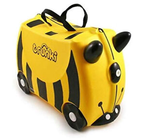 Trunki Yellow Original Kids Ride-On Suitcase and Carry On