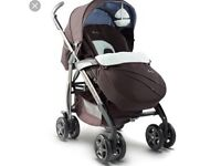 Sliver cross 3D pram