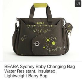 Baby changing bag nearly new