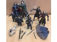 A bundle of Marvel lord Of The Rings Figures