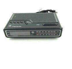 Vintage GE 7-4612BKB  Digital Alarm Clock Radio General Electric 6.A1