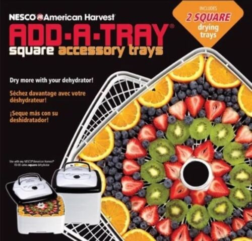 Nesco SQT-2 Add-A-Tray for Square Dehydrators FD-80 and FD-8