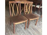 Pair Of Retro G-Plan Dining Chairs