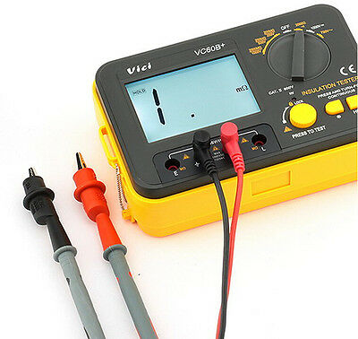 New Us Ship Vc60b Digital Insulation Tester Megger Megohm Meter
