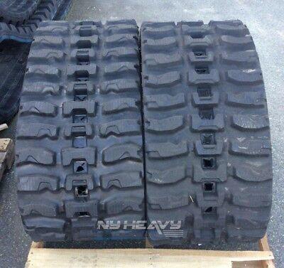Two Rubber Tracks Fits Cat 279c 450x86x60 Free Shipping 18 Q Tread Caterpillar