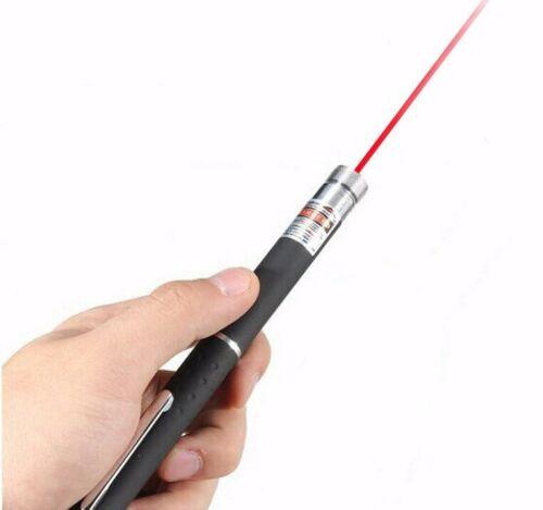 5 mW Red Laser Pointer Pen Light Lazer For Pet Strong 900Mile Visible Beam Light