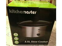 NEW Kitchen Master Slow Cooker