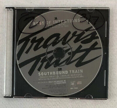 Travis Tritt CD Single w 2 songs Best of Intentions Southbound Train - disc