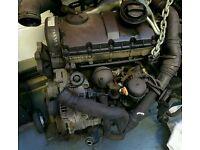 Volkswagen audi seat 1.9 tdi pd auy code engine 115bhp