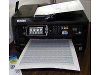 Epson A3 Workforce WF7610-WF Printer Scanner Photocopier 4 in 1