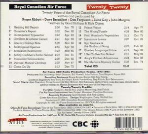 Royal Canadian Air Farce - Twenty Twenty (1973-1993) CD West Island Greater Montréal image 2