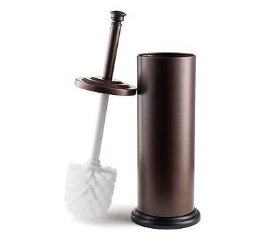 Toilet Brush Holder Bathroom Cleaning Supplies Decor Bronze Stainless Steel NEW Decorative Toilet Brush Holder
