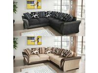 😋👌BRAND NEW POLAND IMPORTED SHANNON SOFA CORNER AND 3+2 SEATER🛒😉🎃