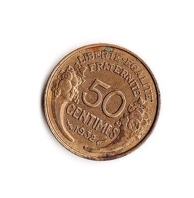 50 centimes Frankreich 1932 (449)