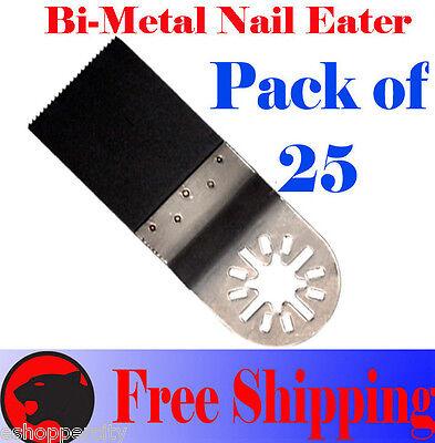 25 Nail Eater Oscillating Multi Tool Saw Blade Bosch Multi-x Fein Multimaster