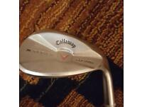 Callaway forged x jaws sand wedge