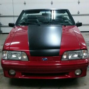 1993 Ford Mustang Gt Convertible ECHANGE CONTRE CAMION DIESEL
