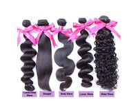 BRAZILIAN PERUVIAN MALAYSIAN CAMBODIAN VIRGIN HAIR 8AA++FROM £15,BUNDLES DEAL FROM £55 SALES OFFER!!