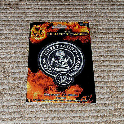 Neca Lions Gate Films Licensed 2012 Hunger Games District 12 Patch Seal  New