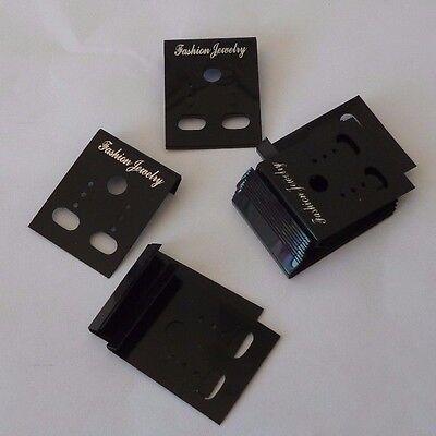 isplay Karten Ohrringhalter  in schwarz (Display-karten)