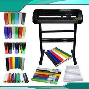 24inch Vinyl Cutter Plotter Heat Transfer Vinyl and Sign Vinyl Sticker   #004963