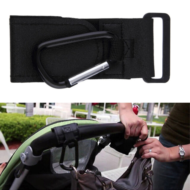 Universal Baby Pushchair Stroller Pram Hook Shopping Bag Hanger Carabiner BN