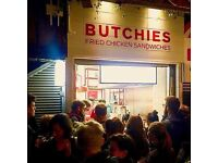 Butchies Camden are Looking for a Front of House Food Sales Wizard - £8 + Commission