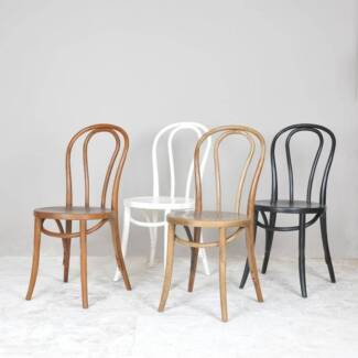 Bentwood Dining chairs Solid WOOD - 3 colours Midland Swan Area Preview