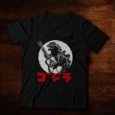Funny Monster (Funny Godzilla Tokyo Monster Playing Guitar Ultra Cotton Men)