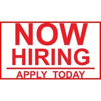 Now Hiring Job: Carpenter, Sewer, Upholsterer Wanted