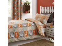 Dunelm woodland themed bedding set