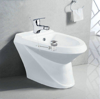 Bidet Toilet Faucets Pop Up Drain Deck Mounted Chrome Basin Sink Faucets (Mounted Bidet)