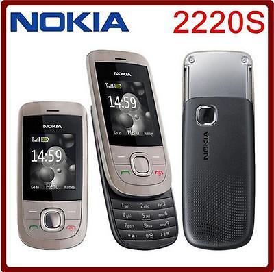 Original Nokia 2220 2220S slide Mobile Phone GSM mp3 player GSM 900 / 1800 Gsm-mp3-player