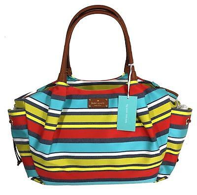 $398 KATE SPADE STEVIE DIAPER BAG BABY LARGE TRAVEL TOTE CHANGING PAD *NWT*