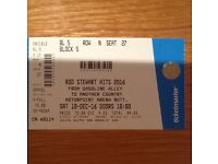 2 Pairs of Rod Stewart Tickets for Saturday 10th December in Nottingham