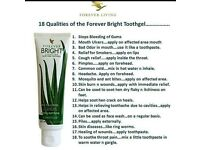 Forever living tooth gel