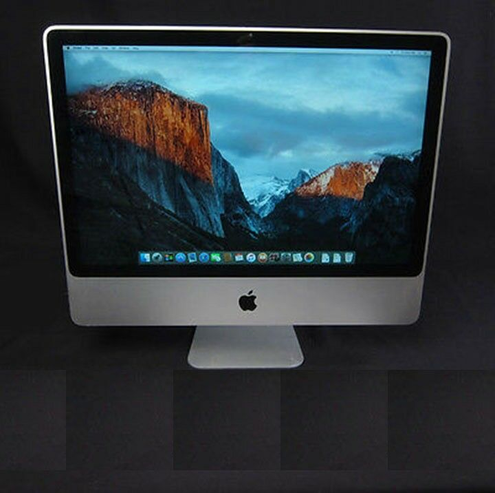 Apple iMac 24inch Computer, 8 1(2008), Intel Core 2 Duo @ 3 06Ghz, 4Gb,  500Gb, OS 10 11 6 | in Warwick, Warwickshire | Gumtree