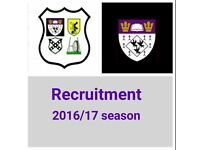 Rugby club seeks players. Pre-season training starts Tues 26th July. All welcome.