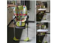 Chicco high chair - £25