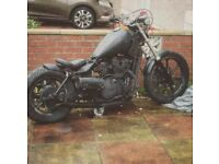 Kawasaki en 450 chop chopper hardtail