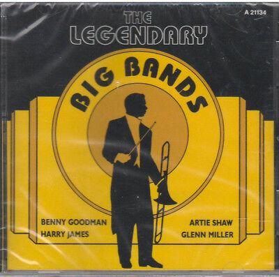 LEGENDARY BIG BANDS (CD, 1989) NEW