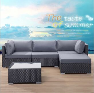 Brand New Madrid 5pcs  Lounging Set