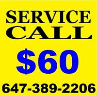 APPLIANCE REPAIR TECHNICIAN  * 647-389-2206 *