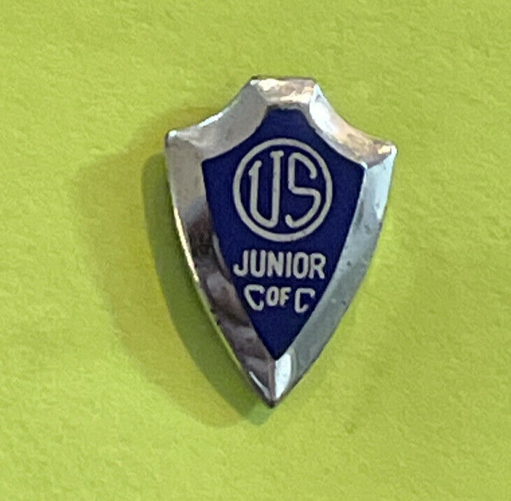 Vintage US Junior C of C Chamber of Commerce Jaycees Lapel Pin Screw back Sn6983