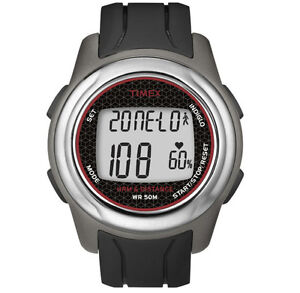 0224ea313a51 Timex T5k560f5 Full-sz T5K560 Health Touch Plus Heart Rate Monitor Watch