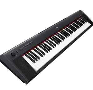 Yamaha Piaggero NP31 76-Key Lightweight Compact Portable Keyboar