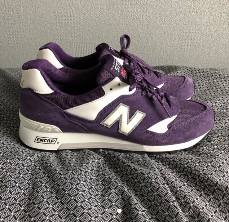 2e587f14c6c3a Purple New Balance 557   in Leicester, Leicestershire   Gumtree