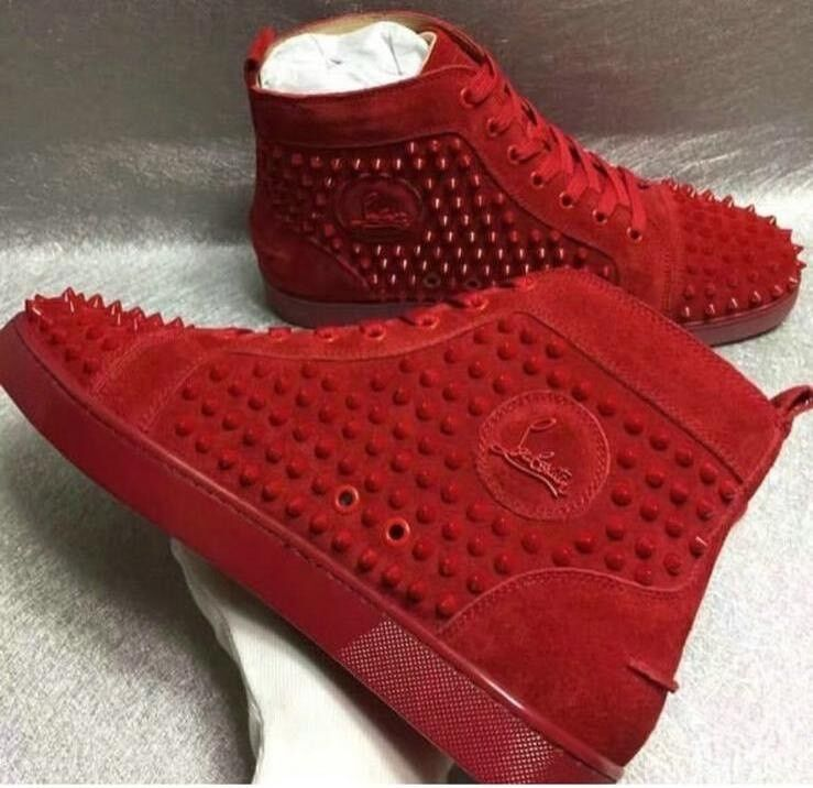 52ac9f5f7 Red Shoes Christian Trainers Louboutin Men Women Designer Louis New Vuitton  Sneakers Black Gucci
