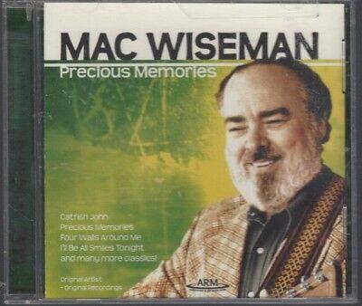 MAC WISEMAN ~ PRECIOUS MEMORIES (CD, 2005, 12 Songs) - VERY GOOD PLUS